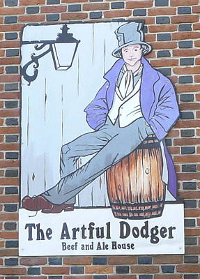 Photograph - The Artful Dodger by Richard Reeve