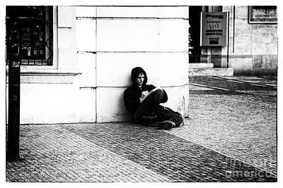 Prague Drawings Photograph - The Artist by John Rizzuto