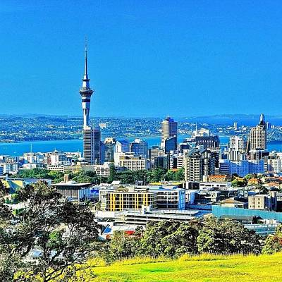 Trip Wall Art - Photograph - The Auckland Metropolitan Area ( by Tommy Tjahjono