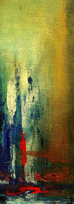 Abstract Painting - The Aurora - Art By Laura Gomez by Laura  Gomez
