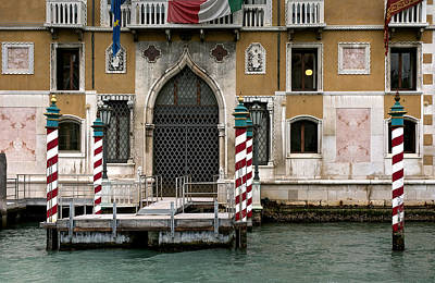 Photograph - The Authority Was Out... Venezia by Juan Carlos Ferro Duque