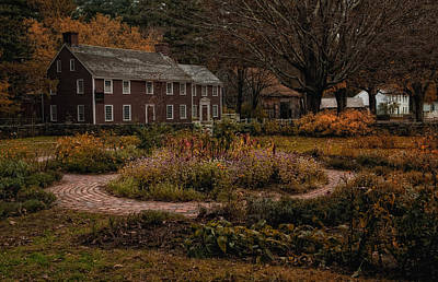 The Autumn Garden Art Print