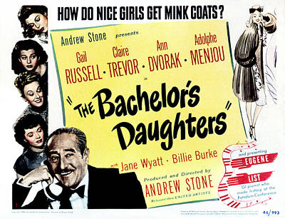 The Bachelors Daughters, Top To Bottom Art Print by Everett