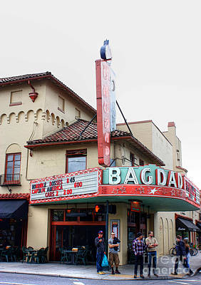 Hawthorne Photograph - The Bagdad by David Bearden
