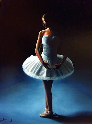 The Ballet Dancer 2 Art Print by Dimitris Papadakis