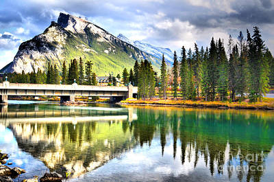 Photograph - The Banff Bridge by Tara Turner