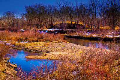 The Banks Of The South Platte River II Art Print