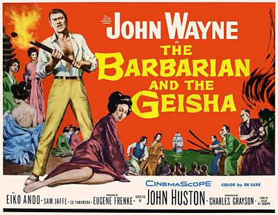 The Barbarian And The Geisha, John Art Print