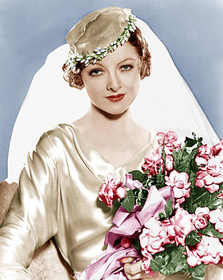 Incol Photograph - The Barbarian, Myrna Loy, Portrait by Everett