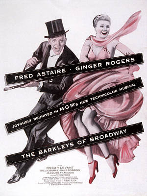 Barkley Photograph - The Barkleys Of Broadway, Fred Astaire by Everett