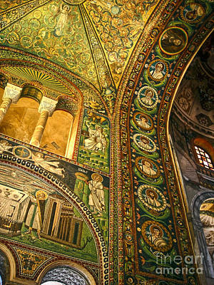 The Basilica Di San Vitale In Ravenna - 03 Art Print by Gregory Dyer
