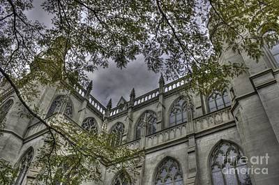 Photograph - The Basilica In Denver by David Bearden