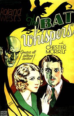 The Bat Whispers, Upper Left Gustav Von Art Print