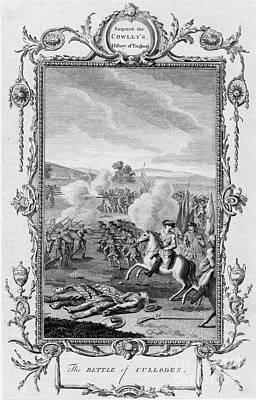 The Battle Of Culloden Art Print