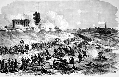 The Battle Of Gettysburg The Charge Photograph By Everett