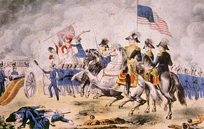 Battle Of New Orleans Photograph - The Battle Of New Orleans, January 8 by Everett