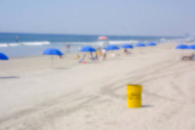 Photograph - The Beach At Atlantic City by Emery Graham