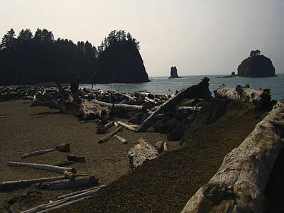 The Beach At Twilight Print by Kym Backland