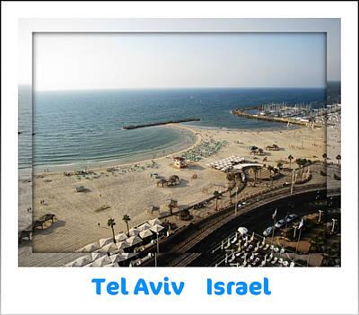 Photograph - The Beach Promenade  Tel Aviv Israel by John Shiron
