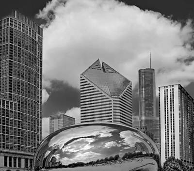 The Bean Chicago Illinois Art Print by Dave Mills