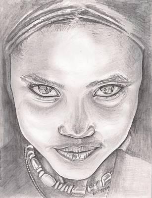The Beauty Of Ethiopia Art Print