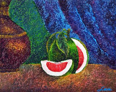 The Beauty Within Series--juicy Grapefruit Art Print by Luxo N P