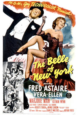 Postv Photograph - The Belle Of New York, Fred Astaire by Everett