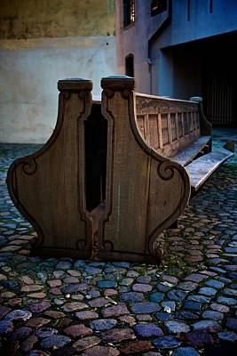 Alsace Photograph - The Bench by Noze P