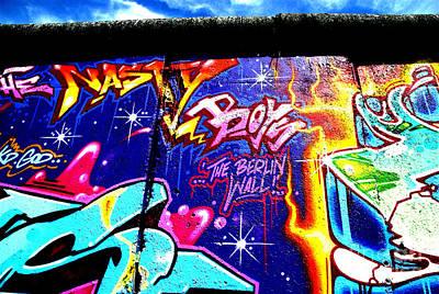 The Berlin Wall 2 Art Print by Mark Azavedo
