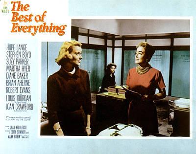 The Best Of Everything, Hope Lange Art Print by Everett