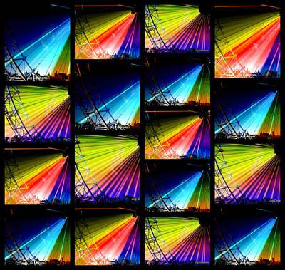 London Eye Mixed Media - The Best Of London by Jan Steadman-Jackson