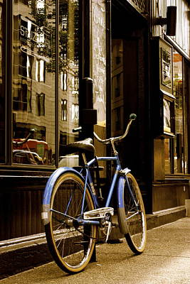 Photograph - The Bicycle by Simon Gonzalez