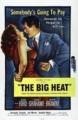 The Big Heat, Gloria Grahame, Glenn Art Print by Everett