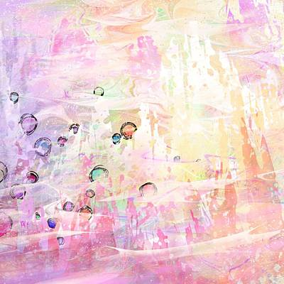 Candy Digital Art - The Big Rock Candy Mountains by Rachel Christine Nowicki