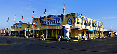Photograph - The Big Texan by Ricky Barnard