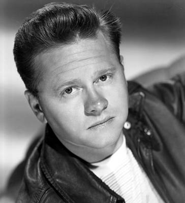 1949 Movies Photograph - The Big Wheel, Mickey Rooney, 1949 by Everett