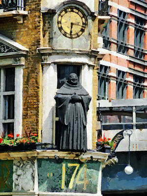 Arts And Crafts Movement Photograph - The Black Friar Pub In London by Steve Taylor