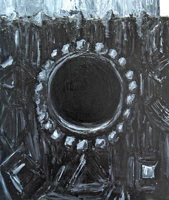 The Black Nest Art Print by Kazuya Akimoto