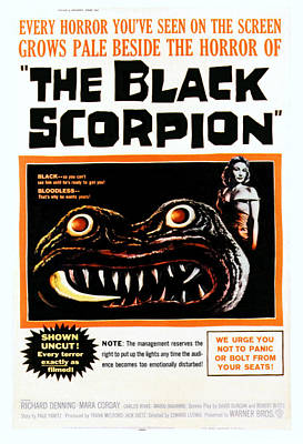 The Black Scorpion, Right Mara Corday Art Print