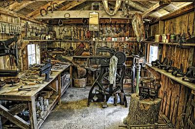 Photograph - The Blacksmith's Shop by Jan Amiss Photography