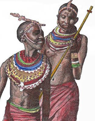 The Blind Kings Art Print