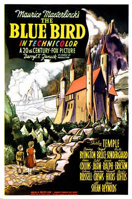 The Blue Bird, Poster Art, 1940 Art Print by Everett