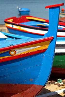 The Blue Boat Original by Dias Dos Reis