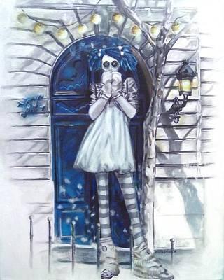 The Blue Door Art Print by Lori Keilwitz
