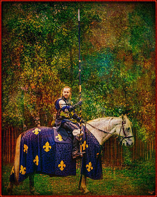 Photograph - The Blue Knight  by Chris Lord