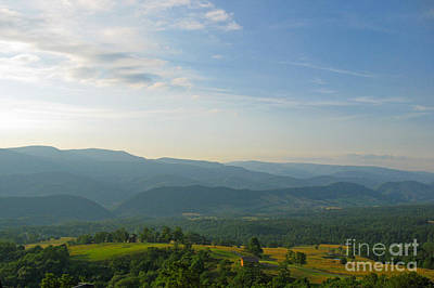 Photograph - The Blue Ridge Mountains In July 01 by Ausra Huntington nee Paulauskaite