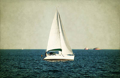 Photograph - The Boat And The Lake by Milena Ilieva
