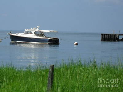 Art Print featuring the photograph The Boat by Beth Saffer