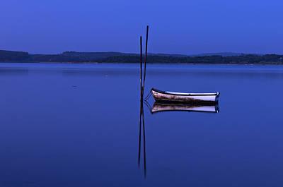 The Boat In Blue Original