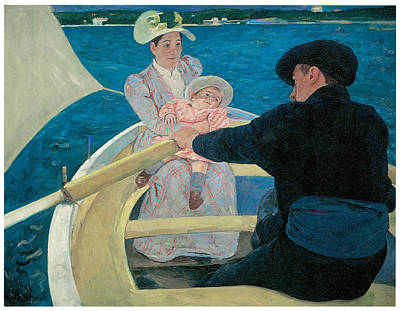 The Boating Party Art Print by Mary Cassatt
